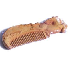福建木雕    黄杨木梳子   奇趣收藏