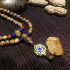磊鑫珠寶行   印泥沉香佛珠   時尚飾品