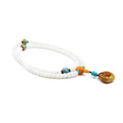 雅娜珠宝 时尚饰品 玉髓、天河石顶珠  紫晶珠腰珠 月光石三通