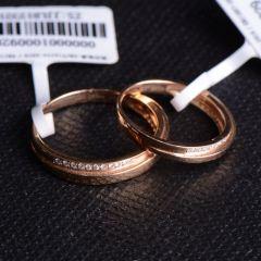 唐婉珠宝  18K金钻石对戒   钻石戒指 男  2.964