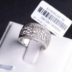 唐婉珠宝  18K金钻石戒指    重量7.46g   0.05克拉   钻石戒指