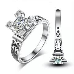瑞华银饰 白银 白银戒指