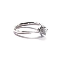 金九福   钻石戒指 总质量4.1776g 主石0.400ct/1