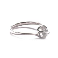 金九福   钻石戒指 总质量4.1053g 主石0.500ct/1