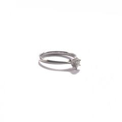 金九福   钻石戒指 总质量1.7257g 主石0.400ct/1