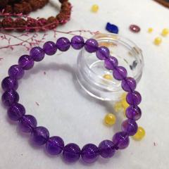 如心閣 依戀紫水晶女款 手串 8mm
