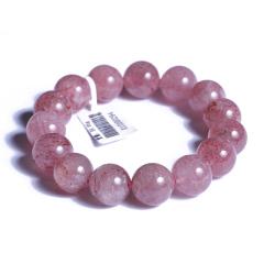 玉佛緣  草莓水晶 手串 直徑14mm