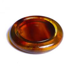 天然緬甸琥珀 黃金珠寶 女式鐲子 47.50 徑寬 10mm 重量60.5(帶鐲芯) 金珀女式手鐲子