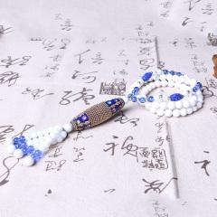 李三文玩   砗磲毛衣链  时尚饰品