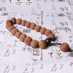 李三文玩   美國猴頭核桃手持2.8cm   時尚飾品手串