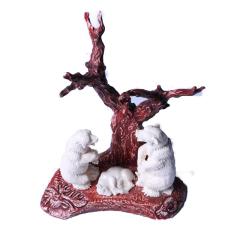 子轩阁  猛犸摆件   熊   重量478克   奇趣收藏把件/摆件
