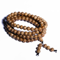 唐人文玩  沉香108顆 0.8圓珠