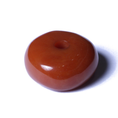 大觉文玩 老蜜蜡 高18mm*40mm直径 20.61g