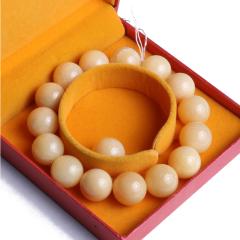 海玉砗磲  黄金砗磲手串 15粒 65g 精品 微瑕 赠一粒