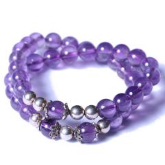 渊缘堂 紫水晶两圈 8mm