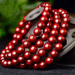 宝中皇小叶紫檀油润金星108颗念珠 6mm手串手链真正印度高密野生