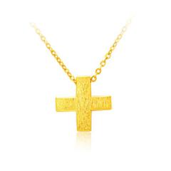 黃金套鏈足金十全十美項鏈F001811 約2.78克-2.8克