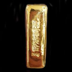 投资金条  足金  财富黄金 约200g