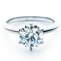 六爪钻戒经典款订婚求婚戒指  50分钻戒  GIA国际证书