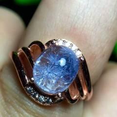 晶之缘水晶  无加色 处理 支?#25351;?#26816; 懂货的速来  蓝发晶有多稀有多珍贵    超美