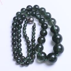 龙藏水晶商行 绿发晶塔链