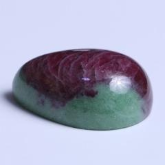龙藏水晶商行 红绿宝裸石 34.8g