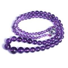 久盛水晶 紫水晶项链