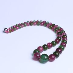 晶石轩 红绿碧项链
