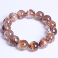 春美水晶 精美铜顺发项链