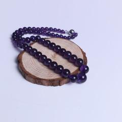 春美水晶 精美紫晶项链