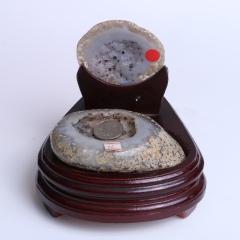 晶之艺  天然巴西玛瑙聚宝盆  宽×长×高:13cm×12cm×14cm