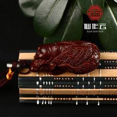 印度小葉紫檀 手工雕刻 名利雙收手把件  精雕油性足 廠家批發
