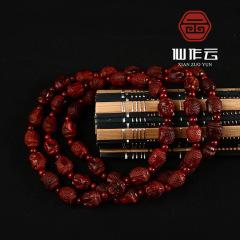 厂家直销 印度小叶紫檀 释迦摩尼手串 雕刻 佛珠手链