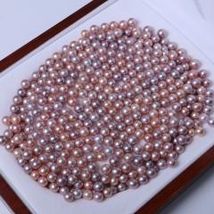 LV珠光宝气 天然淡水珍珠正圆裸珠