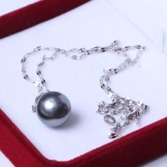 LV珠光宝气 大溪地黑色珍珠正圆