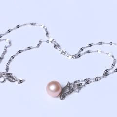 LV珠光宝气 天然淡水珠正圆珠送链