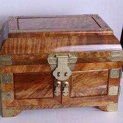 南海明珠 小叶紫檀镜箱