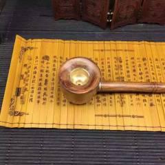 海南花梨個性煙斗送長輩自用佳品。雙層過濾特價
