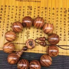 海南黃花梨,虎皮紋,山水紋,高密度,紋理清晰漂亮,批發價  手串黃花梨手串