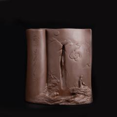 古韻仙居  景德鎮  陶瓷倒流香具 擺件