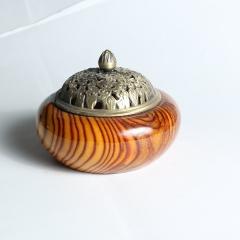 依剑楠艺 赞比亚花梨香炉