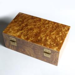 依剑楠艺 黄金樟首饰盒