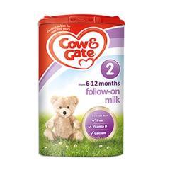 英国牛栏奶粉2段900g 1罐装