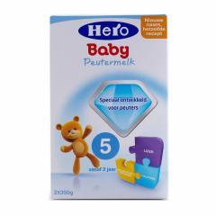 荷兰Hero baby美素奶粉5段700g 1盒装