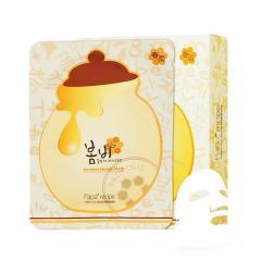 【香港直邮】papa recipe 春雨蜂蜜保湿面膜(黄色) 1盒装