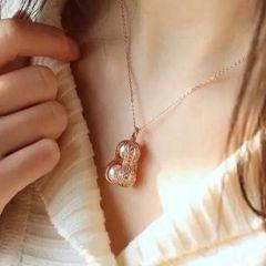辰轩珠宝 精美珍珠项链 白银彩银常生果