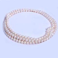 渭塘寶緣閣珠寶  珍珠毛衣鏈高大上款 7-8mm 長度120cm