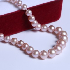 渭塘宝缘阁珠宝  珍珠塔链 淡水裸珠款项链 长度45cm