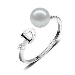 戒指 天然淡水珍珠戒指