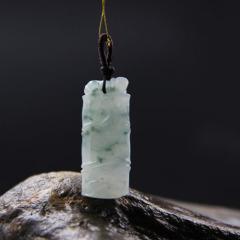 冰種晴水飄花竹節